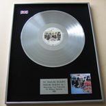 TRAVELING WILBURYS - TRAVELING WILBURYS / VOLUME ONE PLATINUM LP presentation Disc